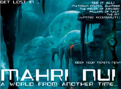 Mahri Nui Travel Poster
