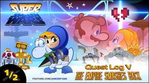 SUPER SMASH WARS 2 The Empire Smashes Back (Part 1 2) A Star Wars Nintendo-Verse Mashup