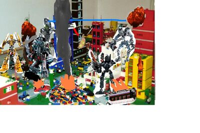 Bionicle the movie climatic scene