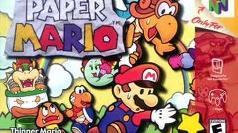 Paper Mario music - Master Battle