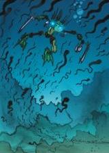 Comic Ehlek and Venom Eels