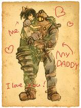 Big Daddy y Little Sister (sontyou)
