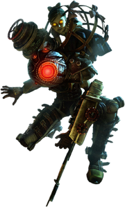 170px-Bioshock-2--Big-Sister-with-a-Little-Sister-on-her-psd28429