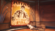 BaS2 Atlas is Pal Poster
