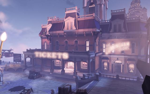 File:BioShock Infinite - Soldier's Field - Patriot's Pavilion - Ticket Shop-outside f0794.png
