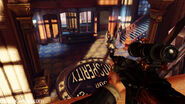Bioshock infinite semi auto rifle vs motorized patriot