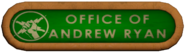 Office of Andrew Ryan Sign