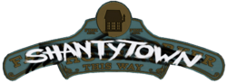 Shantytown sign