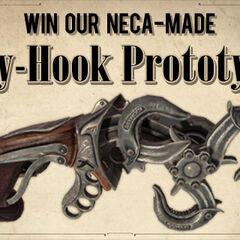 Anuncio del concurso para ganar un prototipo real.