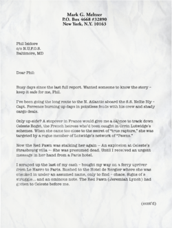Letter to phil 1