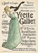 Yvette Guilbert Poster 2