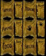 Assorted Atlas supplies signage