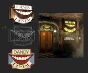 Dandy Dental Signage Model & Concept Zimmermann