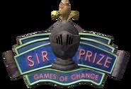 Sir Prize Sign