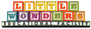 Little Wonders Educational Facility Sign