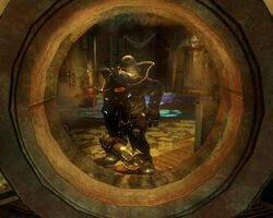 BioShock 2-Inner Persephone - Augustus Sinclair as Subject Omega tower f0355