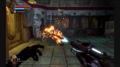 BioShock 2 - What's up with Eleanor? Glitch.