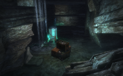 Smuggler's Hideout Flooded Cave