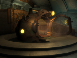 BioShock Lighthouse Atrium Bathysphere