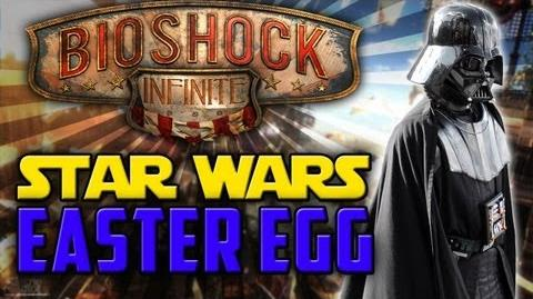 BioShock Infinite Star War's Secret Easter Egg