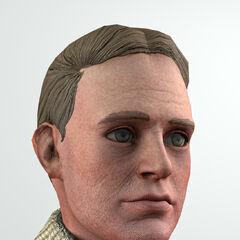 <i>Una mirada más cercana al modelo facial de Jack.</i>