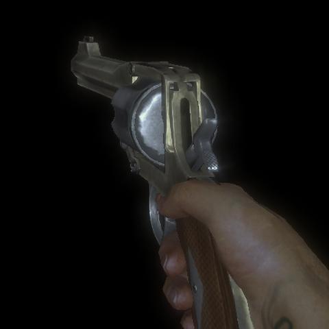 <i>Normal bir tabanca.</i>