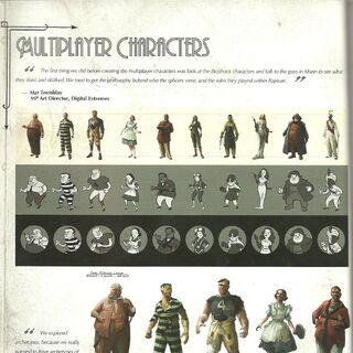 personajes en <a href=