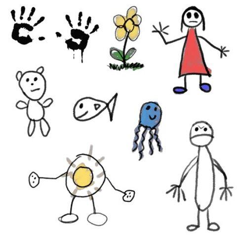 Dibujos en el Orfanato Little Sister.