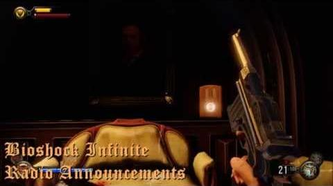 Bioshock Infinite Radio Announcements