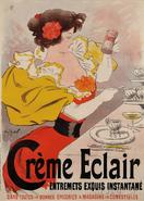 Georges Meunier - Crème Éclair Poster 1895