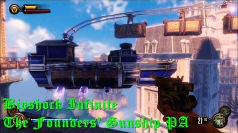 Bioshock Infinite The Founders' Gunship PA