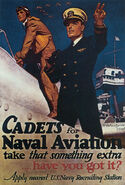 Cadets for Naval Aviation take that something extra – Have you got it Fontaine's Because you're not one of them