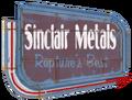 Sinclair Metals Sign arrow.png