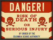 DANGER CSA Billboard