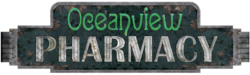 Oceanview Pharmacy Sign