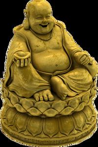 Plaster buddha