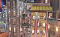 BioShock Infinite - Soldier's Field - Welcome Center - Soldier's Field Diorama Comstock f0802