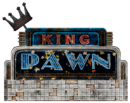 King Pawn Sign
