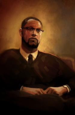 Porter portrait done