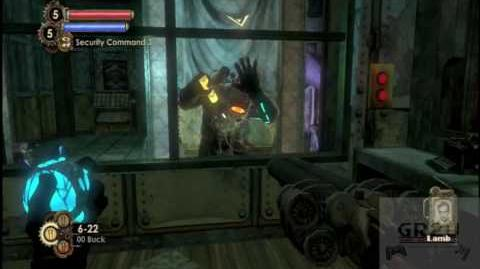 Bioshock 2 Gameplay Sinclair