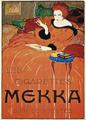 Charles Loupot - Les cigarettes Mekka Poster 1919.png