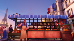 Burial at Sea Episode 2 Scripted Events cheese vendor