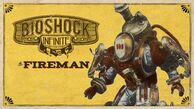 BioShock Infinite Fireman Steam Trading Card