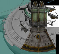 Sinclair's Lifeboat Concept Art 3
