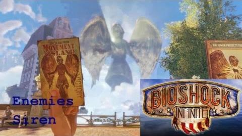 Bioshock Infinite - Enemy - Siren