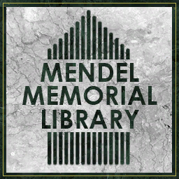 File:Mendel Memorial Library sign.png