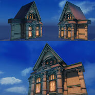 Unused Carson Mansion-Inspired Facade 2