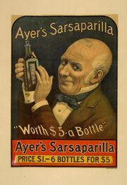 Ayer's Sarsaparilla Ad