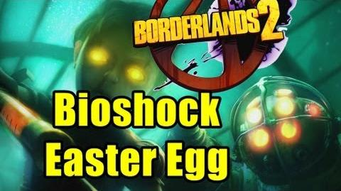 Bioshock Easter Egg - Borderlands 2