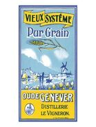 Oude Genever label